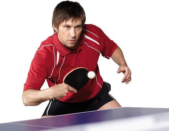 Настольный теннис - бодрость и оздоравливающий эффект.