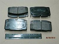 Колодка тормозная ОПЕЛЬ, ASCONA/KADETT/VECTRA передние (пр-во ABS)