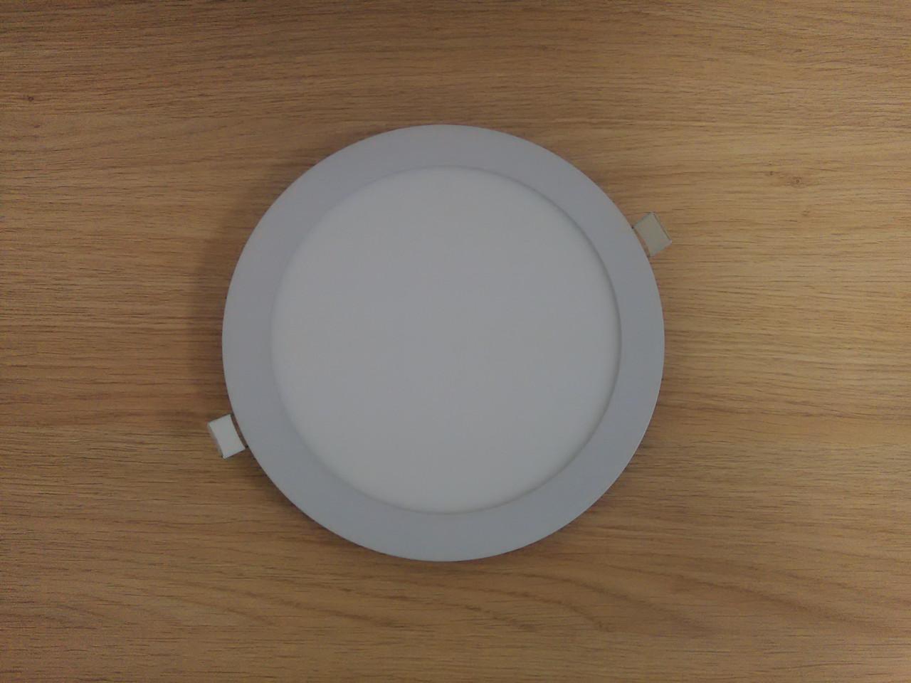 Светильник врезной LED  Downlight  24W  4200K  диаметр 300 мм круглый  алюминиевый корпус