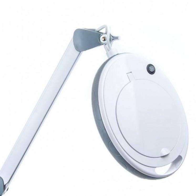 Лампа-лупа 6014 LED-3 з регулюванням яскравості, холодне світло