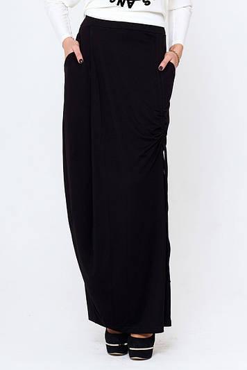Женская длинная юбка с карманами Дагмар