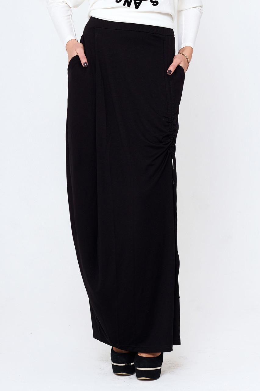 0f2fe245658 Женская длинная юбка с карманами Дагмар - 560 грн. Купить в Украине ...