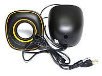 Музыкальные проводные колонки USB G105, колонки компьютерные, комплект акустики
