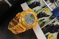 Часы наручные спортивные мужские N-Time yellow