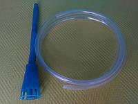 Сливная трубка 1м с пластиковой насадкой