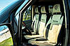 "Модельные чехлы Mersedes-BenzVito 639 / Мерседес Вито 639 (1+2) 2003- ""Алькантара"""
