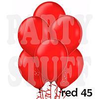Пастельные шары Gemar А50 красные, 5' (13 см) 100 шт