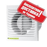 Бытовой вентилятор Домовент 100 СВ (оборудован выключателем)