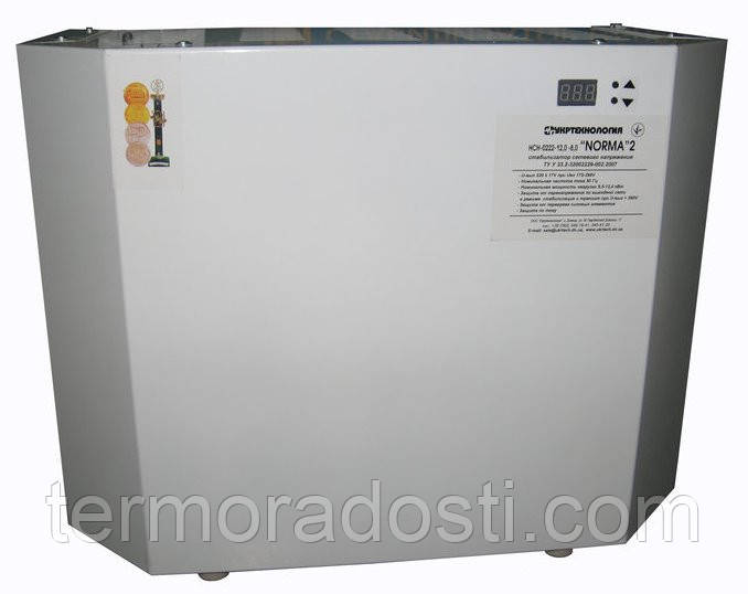 Стабилизатор напряжения Norma 12000ВА Укртехнология (для дома)