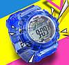 Часы наручные спортивные женские N-Time blue, фото 3