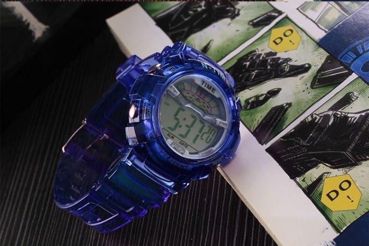Часы наручные спортивные женские N-Time blue