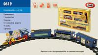 Музыкальная железная дорога play smart joy toy 0619 Мой первый поезд 3 вагона 53*31*7 см