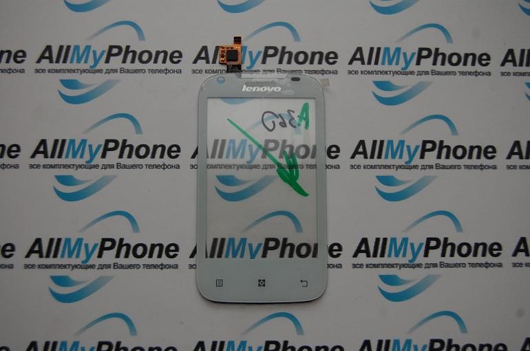 Сенсорный экран для Lenovo A360 white