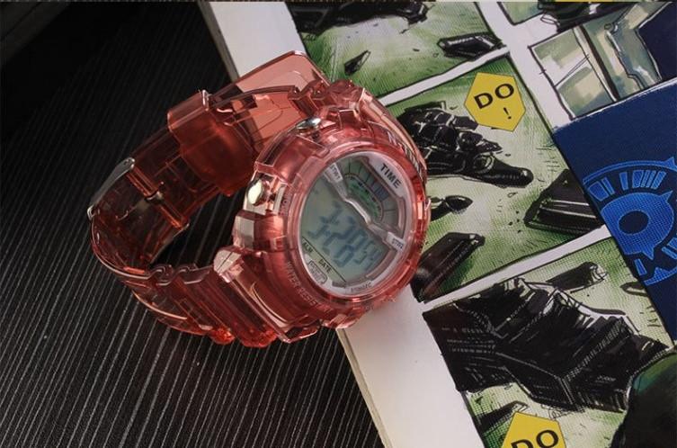 Часы наручные спортивные женские N-Time red