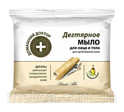 Мыло для лица и тела Домашний Доктор Дегтярное для проблемной кожи - 70 г. - АВС Маркет в Мелитополе