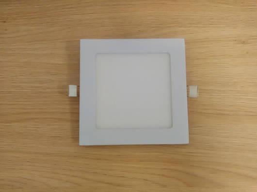 Светильник врезной LED  Downlight  12W 6400K  размер 170*170 мм квадратный  алюминиевый корпус