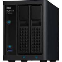 Дисковая система хранения WD 0-16TB 2x3.5 My Cloud Pro Series PR2100  NAS