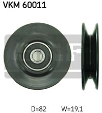 Подшипник натяжной кондиционера Lanos 1,5 (96208428) под клин.
