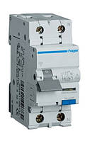 Дифференциальный автомат Hager 2П 16А 10мА тип С AC966J