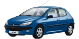 Зеркала для Peugeot 206 1998-09