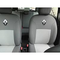 Чехлы модельные для Renault  Sandero 2007- 2012 (цельный) черный Elegant CLASSIC №190