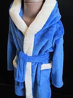 Махровые детские халаты для мальчиков.