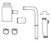 Комплект для отвода конденсата дымохода Ø60/100 для турбированных котлов Protherm