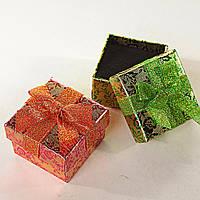 Подарочная коробочка для украшений маленькая 24 шт. Ассорти цветов [5/5/4 см]