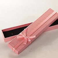 [21/4,5/2 см] Подарочная коробочка для цепочки, браслета Fandy длинная  12 шт.