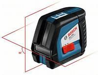Нивелир BOSCH GLL 3-15X лазерный, 3 лiнiї + 1 точка прямовису