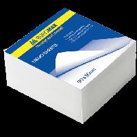 Блок бумаги для записей Buromax БЕЛЫЙ 80х80х30 склеенный