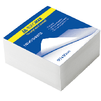 Блок бумаги для записей Buromax БЕЛЫЙ 90х90х50 (BM.2215)