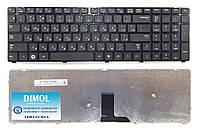 Оригинальная клавиатура для ноутбука Samsung R780 series, rus, black