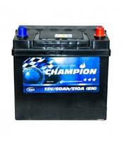 Автомобільний акумулятор Champion Black Japan, 60Ah/510A, R+