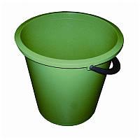 Ведро круглое цветное Buroclean 10л. (10300602)