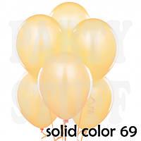 Круглые шары Gemar А50 телесный, пастель 5'(13 см) 100 шт