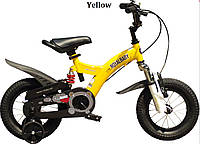"""Велосипед 2-х колесный детский FLYING BEAR, колеса 12""""  желтый"""