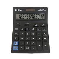 Калькулятор Brilliant BS-0111 12 разрядный 2-пит (BS-0111)