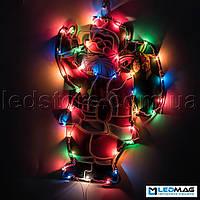 Светящаяся новогодняя фигура Дед Мороз