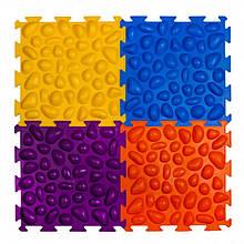 Массажний коврик Пазлы (4 элемента) Ортек