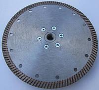Алмазный cеребристый диск с фланцем для  резки гранита Turbo 180x2,4/1,5x10x22,23F-М14