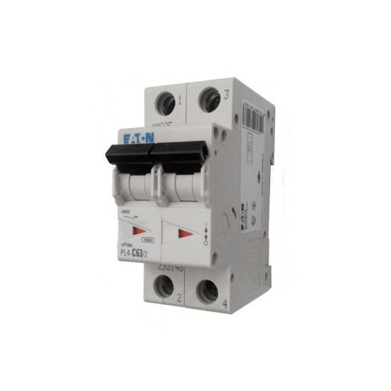 Автоматический выключатель PL4-C20/2 20А 2р х-каC 4,5кА Eaton