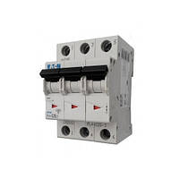 Автоматический выключатель PL4-C6/3 6А 3р х-каC 4,5кА Eaton