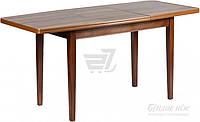 Обеденный деревянный стол раздвижной 160 см