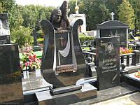 Скульптура-бюст из бронзы женщине № 15