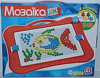 Игра Мозаика тм Технок, 340 элементов, 4 цвета