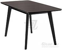 Обеденный деревянный стол венге раздвижной 160 см