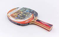 Ракетка для настольного тенниса DONIC LEVEL 600 TOP TEAM (древесина, резина)