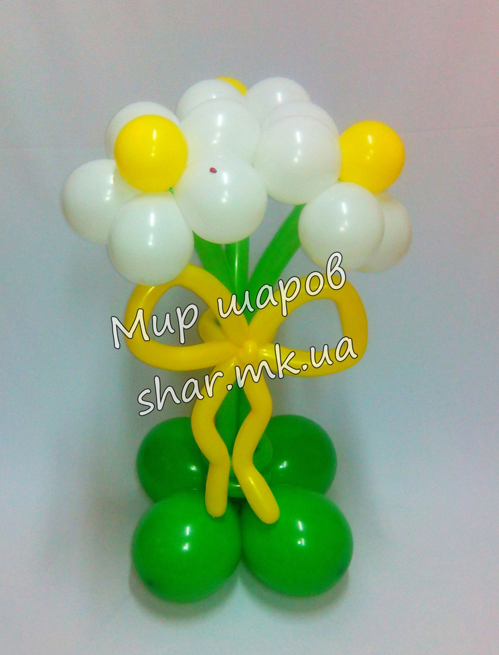 Букет цветов из воздушных шариков. Николаев