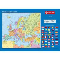 Подкладка для письма Panta Plast Карта Европы